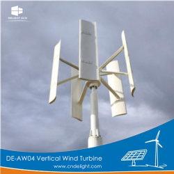 Laminatoio di vento verticale di potere di asse del regolatore di CC MPPT di Vawt 12V/24V di piacere