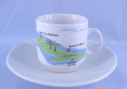 Tasse Mug porcelaine de haute qualité en provenance de Chine Café Tasse de thé soucoupe en usine