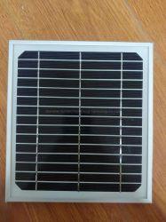De kleine Module van het Zonnepaneel van het Glas van de Grootte Monocrystalline 5W 7.5V Mono voor 3.7V Batterij