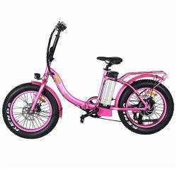 20 pulgadas de largo alcance, bicicleta eléctrica plegable con el pedal ayudar