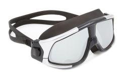 Vakuumreale Überzug PC Objektiv-Schwimmen-Schablonen-Silikonwasserdichte Swim-Schablonen-schützende Schwimmen-Sicherheits-UVschutzbrillen