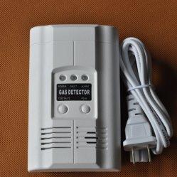 O vazamento de gás combustível Detector de alarme no monitor do sensor de gás para segurança doméstica