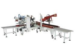 Carton automatique/CAS/boîte Edge d'étanchéité avec du ruban adhésif de la machine pour la ligne de conditionnement d'étanchéité