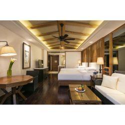 Commerce de gros Hôtel 5 Étoiles antique en bois Meubles de chambre à coucher Suite pour chambre lit king