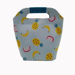 Il neoprene popolare alla moda di stampa della frutta isolato scherza il sacchetto del pranzo