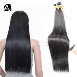 Angelbella brasileño mayorista Remy cabello sedoso sin procesar directamente las extensiones de cabello humano.