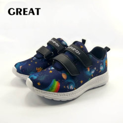 Greatshoe Novo estilo 3D Imprimir Kid sapatos de lona 3D calçado vulcanizado Impressão personalizada
