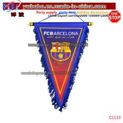 Sport-Verein-Markierungsfahnen-Ereignisse, die Dreieck-Fahnen-kundenspezifische Fußball-Markierungsfahne (C1119, hängen)