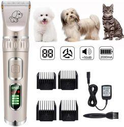 Pet électrique rechargeable Tondeuse cheveux coupe de cheveux chien rasoir Razor