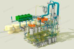 식용 유압기 기계, 정유 공장 기계