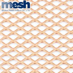 Фасад металлических материалов в перфорированной метод алюминиевых расширенной проволочной сеткой