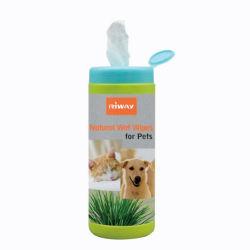 O grooming orgânicos Cuidados Pet Dog toalhetes Pet
