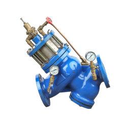 Di Buildin tipo pistón el tamiz de la válvula reductora de presión ajustable (GL98001)