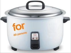10 Kooktoestel 3000watt van de Rijst van de Capaciteit van de liter het Grote Elektrische, voor 50 Personen