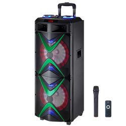 Nachladbare Batterie Bluetooth aktiver fehlerfreier Subwoofers PROlaufkatze-Karaoke-Lautsprecher