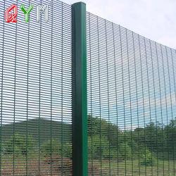 Стена безопасности 358 сварной сетки против подниматься резки высокой стены безопасности