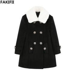Kundenspezifisches Baby der Fakifii Fabrik-2021 neueste Art kleidet Winter-warme starke Wolle-Umhüllung für Mädchen