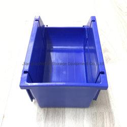 Armazenamento de depósito de empilhamento de partes separadas do recipiente de plástico