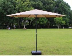 عادة أنيق [وهولسل بريس] حديقة أثاث لازم صامد للريح رخيصة خارجيّة فناء فندق شمسيّة مظلة