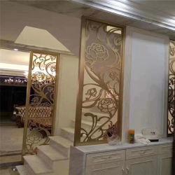 Kundenspezifischer Edelstahl-dekorativer Fenster-Partition-Bildschirm