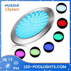 IP68 فائق النحافة 316 ثانية RGB 18W 35 واط تحت ضوء مصباح المياه LED حوض السباحة ضوء