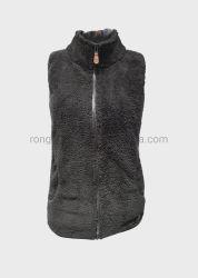 Mesdames noir sans manches veste matelassée