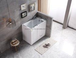 Фошань горячая продажа Cupc гидромассаж внутрь двери ходьбы в ванной для пожилых людей