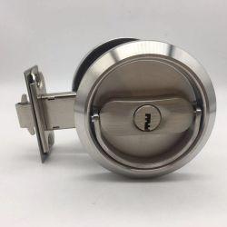 Ech SSS 스테인리스 미닫이 문을%s 둥근 손잡이 키 자물쇠