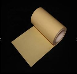 Singolo documento laterale giallo della versione del Kraft del silicone del PE