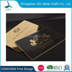 A RFID/PVC/ID/PD/Branco/plástico/RFID inteligentes/Adesão/Dom/Prepaid/fita magnética/Sistema de Jogo Corte a Laser de luxo Nome de Aço Inoxidável cartões de visita de Metal