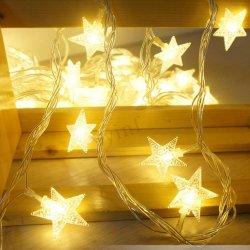 옥외 안뜰 가든 파티 방수 휴일 크리스마스 장식적인 LED 태양 끈 빛