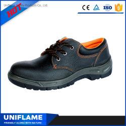 Suela de PU En cuero genuino de la industria puntera de acero de Industrial Seguridad zapatos de trabajo para los hombres de Europa EN20345 China los hombres Zapatos de seguridad Ufa006
