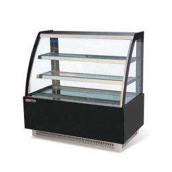 900mm estantes Porta de vidro bolo vitrina de exposição comercial frigorífico