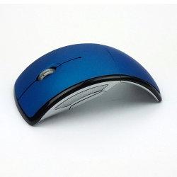 Bluetooth 3.0 Ratón Inalámbrico Óptico Plegado de la Oficina de 1600 dpi ratón ratones para portátil PC