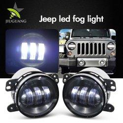 Venta caliente LED Coche Universal de la luz de niebla, fuera de carretera Ronda 30W 6000K luz antiniebla de 4,5 pulgadas