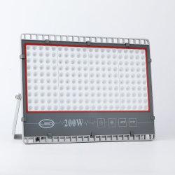 フラッドライト年の保証のセリウムRoHS 50W 100W 200WはIP65屋外の競技場の産業正方形の庭の照明のための調節可能な据え付け品SMD LEDの洪水ライトを防水する