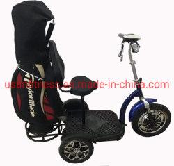 Trois roues scooter électrique de la mobilité de terrain de golf Voiture de golf