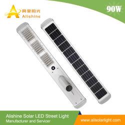 2019 новых 90W солнечного освещения улиц светодиодный светильник с солнечной энергии литиевой батареи солнечная панель для установки вне помещений