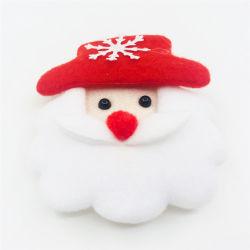 工場クリスマスの親切で赤い鼻のサンタおかしいLEDの折りえり