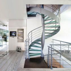 工場直接カスタム屋内螺旋階段の中二階階段