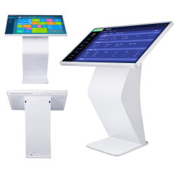 27 Zoll-vertikaler Fußboden-Standplatz aller auf einem Touch Screen