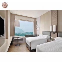 het vijfsterren Moderne Meubilair van de Slaapkamer van het Hotel Sofitel van de Luxe van het Ontwerp Houten