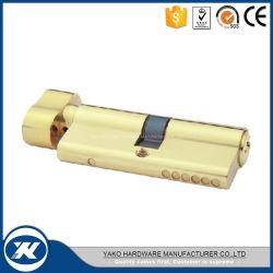 Стандартный твердых цилиндр замка двери латунные одного ядра замка