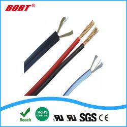 Isolant en PVC souple certifiées UL 12AWG de cordons d'alimentation de puissance Nispt-1 sur le fil