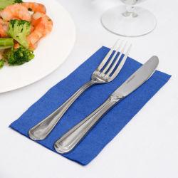 Papier d'impression personnalisables de luxe dîner/déjeuner serviette et Servirtte