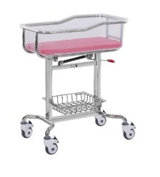 Assembler Hospital Medical néonatale en acier inoxydable nouveau-né bébé Lit bébé