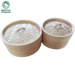 Mejor vendiendo pequeños canasta vaporera de bambú