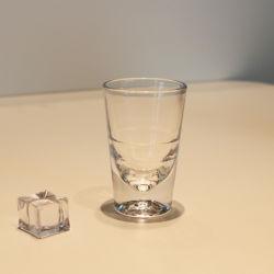 Vidrio de bloqueo de 4 onzas de vino barato tazas taza al por mayor