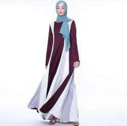 2019 conception populaire fait sur mesure de vente chaude Fancy Abaya robe en mousseline robe de jeune fille vierge