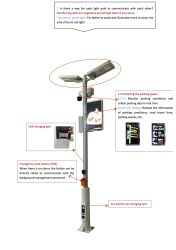Sensor de luz Rua inteligente para testar a temperatura e humidade
